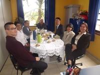 Visita do Consulado Japonês